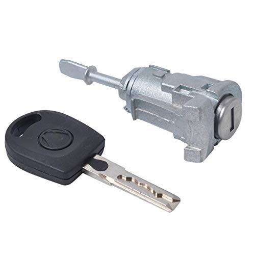 B Blesiya VW Polo Bora 1997-2005 Auto Car Door Lock Key Switch Cylinder + Key Left Side
