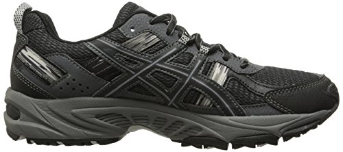 ASICS Gel Venture 5 GS Trail Running Shoe (Little Kid/Big Kid), Black/Onyx/Charcoal, 5.5 M US Big Kid