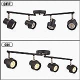 TeHenoo 4-Light Track Lighting Fixtures,Adjustable