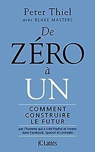 De zéro à un par Peter Thiel