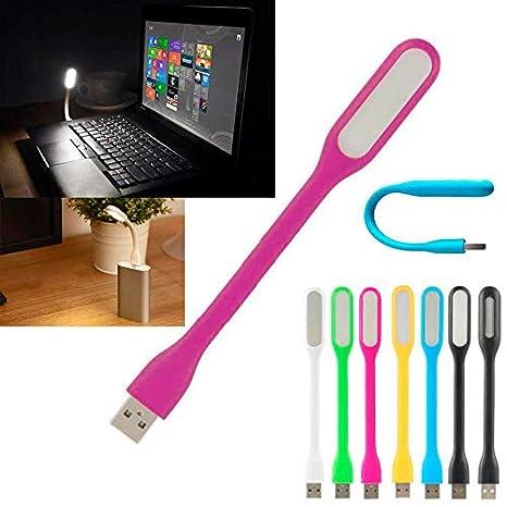 ADATECH - LUZ USB LED LAMPARA Flexible Lectura Ordenador PC PORTATIL Notebook Rosa: Amazon.es: Electrónica