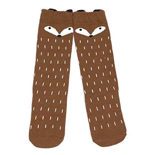 Baby Children Girls Toddler Fox Socks Soft Cotton Knee High Hosiery Tights Leg