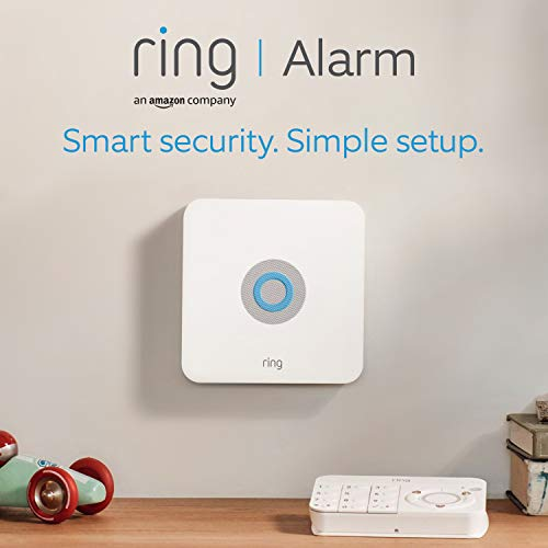 Ring Alarm 5-Piece Kit (1st Generation) by Amazon – Home Security System with optional Assisted Monitoring – No long…