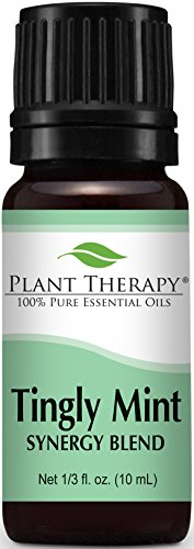 Plant Therapy Tingly Mint Synergy Essential Oil 10 mL (1/3 oz) 100% Pure, Undiluted, Therapeutic ()