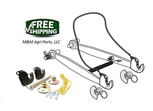 Lower Link Arm - Lower Link Lift Arm Conversion Cat 2 Quick hitch kit Ford Tractors below 100 hp