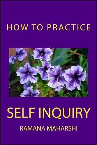 How To Practice Self Inquiry por Ramana Maharshi epub
