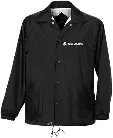 Black, X-Large Factory Effex SUZUKI Windbreaker Jacket