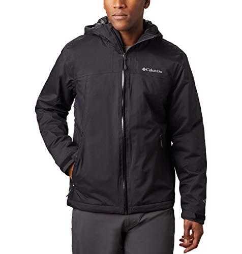 Columbia Men's Top Pine Insulated Rain Jacket, Waterproof & Breathable