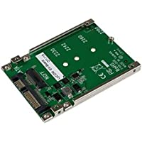 Startech.Com M.2 Ngff Ssd to 2.5in Sata Adapter Converter - Storage Controller - 1 Channel - Sata 6gb/S - 6 Gbps - Sata 6gb/S