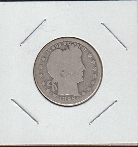1898 O Barber or Liberty Head (1892-1916) Quarter Good