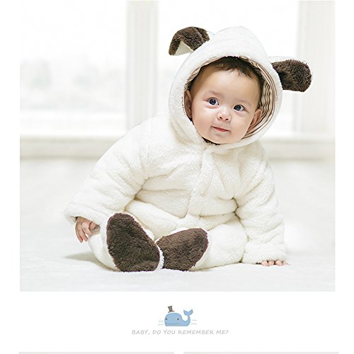 Cow Bunting Costume (Onesie, MagicQK Rabbit Infant Costume Toddler Outfi Baby Jumpsuit from Newborn to 18 Months (12-18M/28