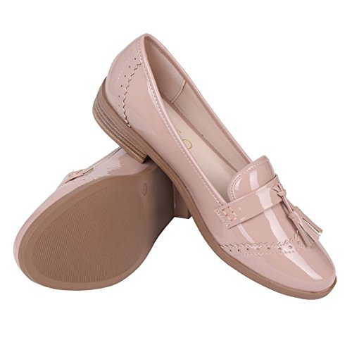 Miso Femmes Chaussures Loafer Plates Tasha 38 Casual Mocassin Nude ggq1w