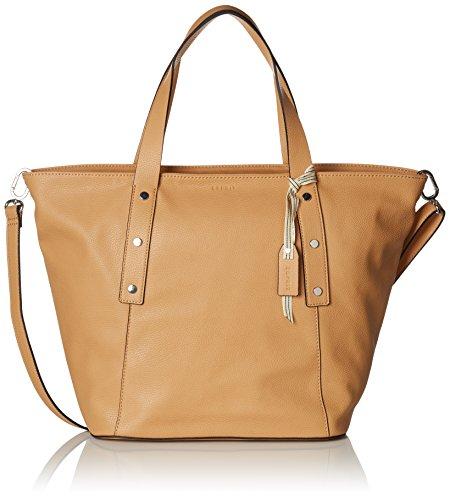 Esprit Accessoires 078ea1o012 - Shoppers y bolsos de hombro Mujer Marrón (Camel)