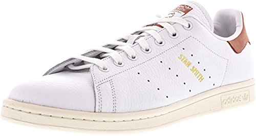 Adidas Heren Originals Stan Smith Sneaker Wit / Wit / Raw Pink