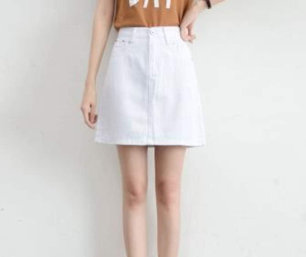 HEHEAB Falda Split Verano Falda Faldas De Cintura Alta Plus Size ...