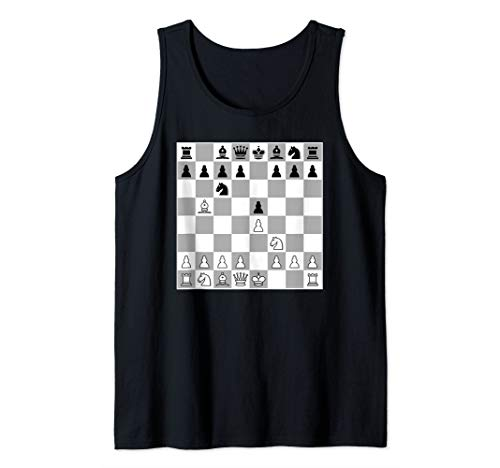 Chess Opening Ruy Lopez Spanish Game Player 1.E4 Morphy Tank Top
