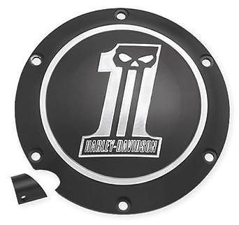 Tapa Acceso Embrague Logo Dark Harley Davidson Sportster Custom XL: Amazon.es: Juguetes y juegos