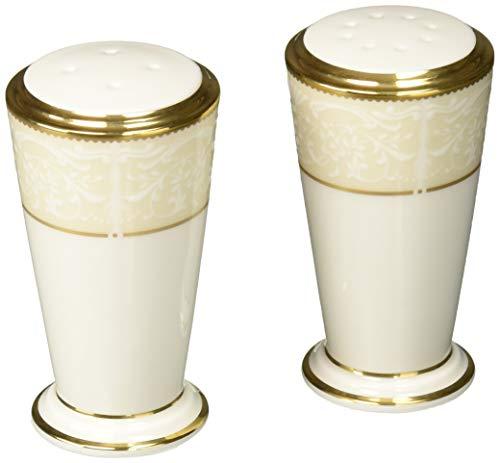 - Noritake White Palace Salt & Pepper Shakers