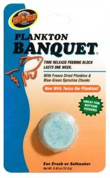 (Zoo Med Aquatrol Plankton Banquet Block Feeder Regular )
