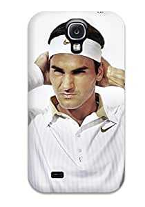 Galaxy S4 Case Slim [ultra Fit] Roger Federer Protective Case Cover