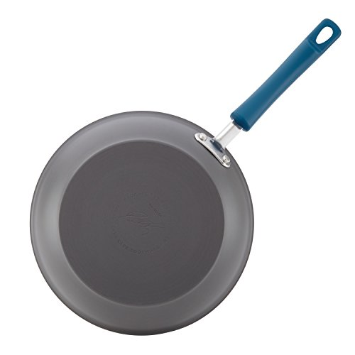 Rachael Ray 10 Piece Hard-Anodized Aluminum Nonstick Cookware Set with Marine Blue Handles by Rachael Ray (Image #5)