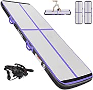 Inflatable Gymnastics Tumbling Mat Length 10ft to 39ft Thickness 4/8 inches Air Track Floor Mats with Electric