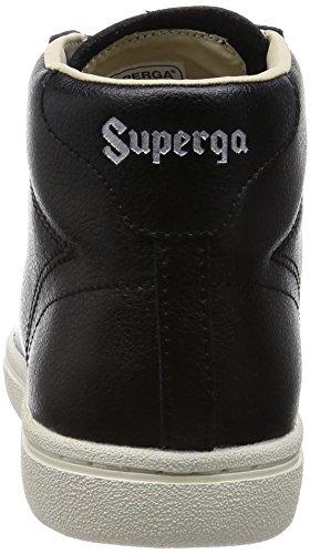 Superga Unisex Plataforma 4531 Sandalias Black Adulto con Bycu raXrHxzq