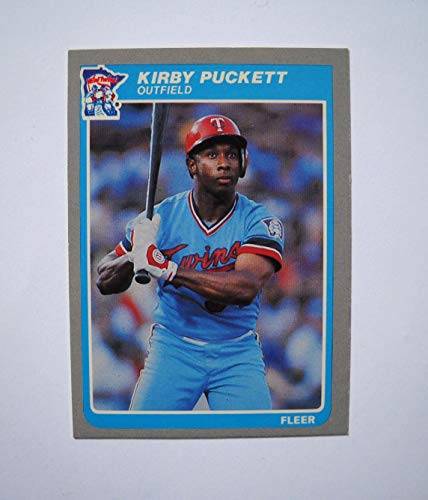 1985 Fleer Kirby Puckett Rookie Card Near Mint NM ()