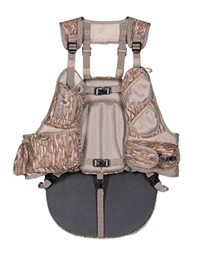 Knight & Hale Run-N-Gun 200-BL Turkey Vest - Mossy Oak Bottomland