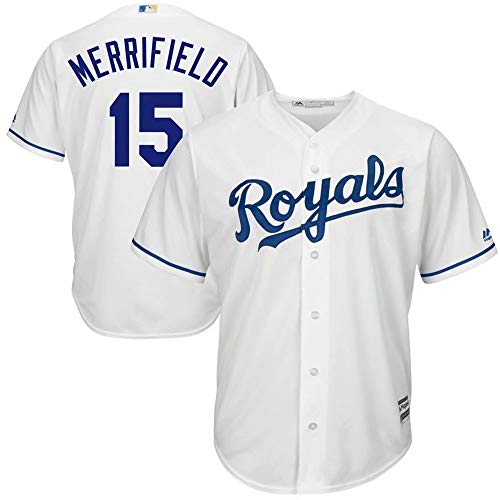 '47 Baseball Jersey Kansas City Royals #15 Merrifield Player Cool Base Sportswear T-Shirt for Men Women Kids - Kansas City Cool Royals