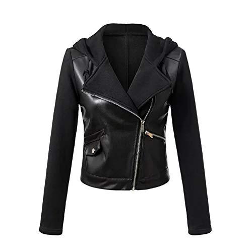 Abbigliamento Di Moto Giacca Cappotti Pelle Pu Inverno Da Nero Faux Esterno 1 Autunno Donna Pragmaticv nAxWZgA