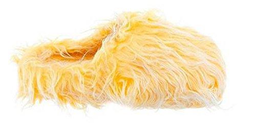 Zapatillas Amarillas Borrosas Para Mujer Xl 9.5-10.5