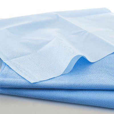 HALYARD ONE-STEP Sterilization Wrap, Meets NFPA Class 1, Recyclable #5 Polypropylene Fabric, H500 24 x 24 in, 62124 (Case of 120)