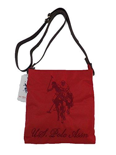 US Polo ASSN borsa a tracolla New Alabama di colore rosso Small crossbody Red