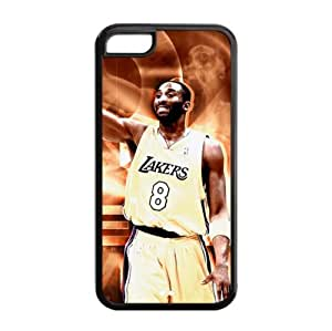 Fashionable Designed iPhone 5s for you TPU Case with LA Lakers Kobe Bryant Image-by Allthingsbasketball