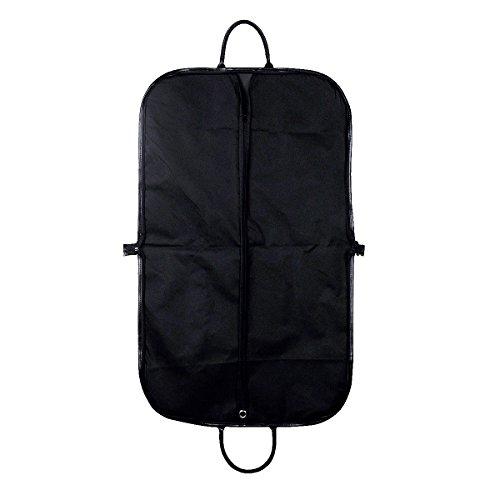 "UName 40"" Foldable Garment Bag with Handles, Black, Travel & Storage Bag, Protector UN133"