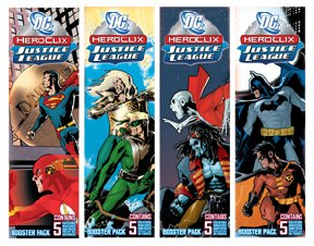 DC HeroClix: Justice League Booster Pack (5 - Booster Justice League Dc