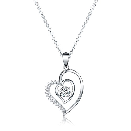 Sable Jewelry Pendant Necklace, Ripple of Hearts, Best Ideal Gift for Girl & ()