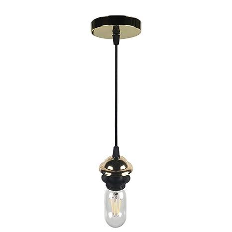 Amadoierly Iluminación retro Lámpara industrial Personalidad ...