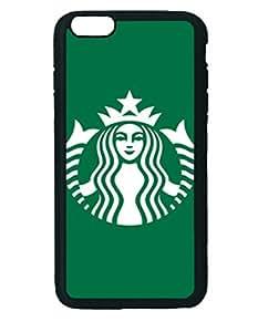 Starbucks Logo Custom Diy Unique Image Durable Rubber Silicone Case Iphone 6 Plus - 5.5 inches hjbrhga1544