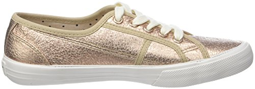 Pepe Jeans London Mädchen Baker Crack Girls Sneaker Gold (Golden)