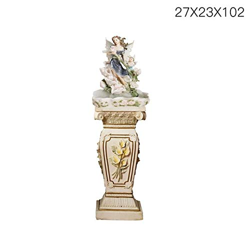 European Style Rockery Fountain Room Water View Humidifier Wind Wheel Ornaments Living Room Fish Pond Bonsai Decorations   Type 3, Decoration