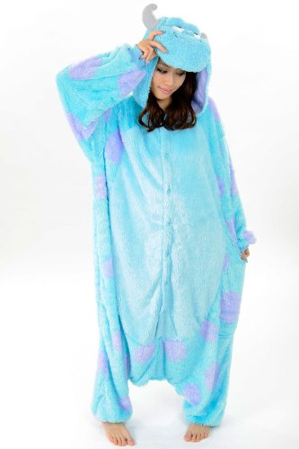 Sulley Kigurumi - Adult Costume