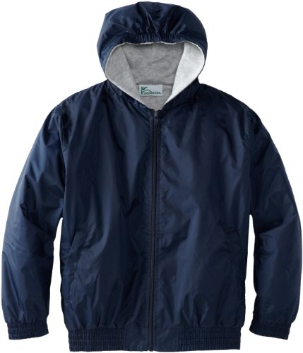 CLASSROOM Big Boys' Uniform Lined Bomber Jacket, Navy, Large
