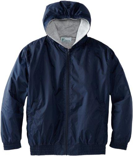 CLASSROOM Big Boys' Uniform Lined Bomber Jacket, Navy, Medium by Classroom Uniforms
