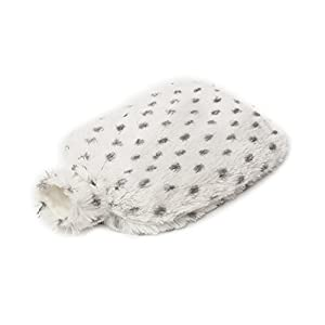 Warmies Microwavable Heatable Body Bottle, 90 Seconds To Warm Up With A Lavender Aroma, Snowy