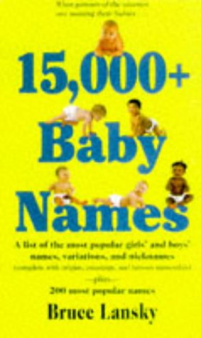 15,000 Baby Names