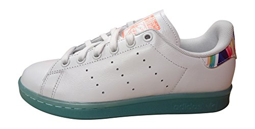 Sunglow Bb4309 Sneakers Damen für Originals Weiß Top adidas Stan Smith Low qwSxWzgR