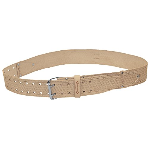 McGuire Nicholas 960 2-Inch Roller Buckle Belt in Tan Saddle Leather by McGuire-Nicolas