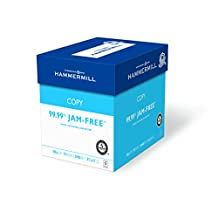 Hammermill Paper, Copy, 20lb, 8.5 x 11, 92 Bright, Letter,  2400 Sheets / 6 Ream Case (150200C)